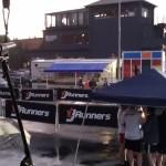 J Runners in the Rain